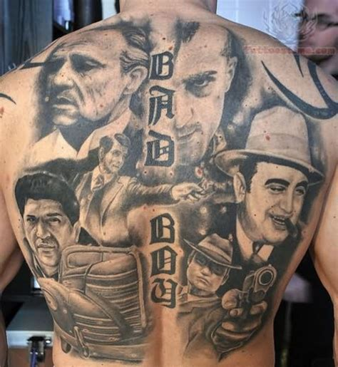 tattoo actor actors tattoos on back
