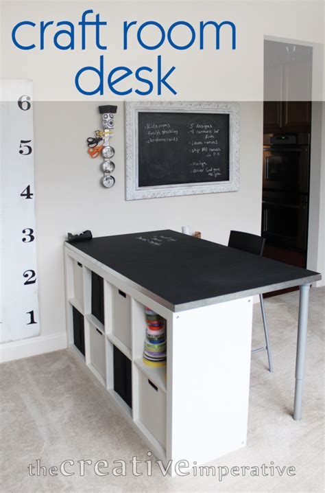 diy craft room table 12 awesome diy craft tables with free plans shelterness