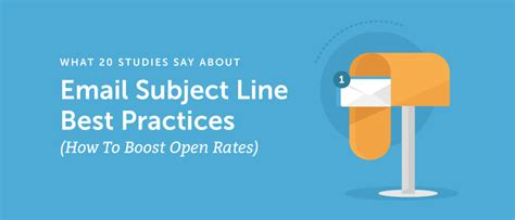 20 email subject lines that will get opened every time email subject line best practices boost opens according