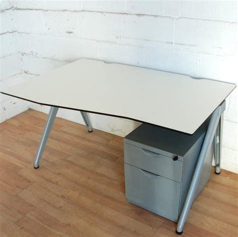 techo office furniture techo arkus wave desk white 12003 allard office furniture