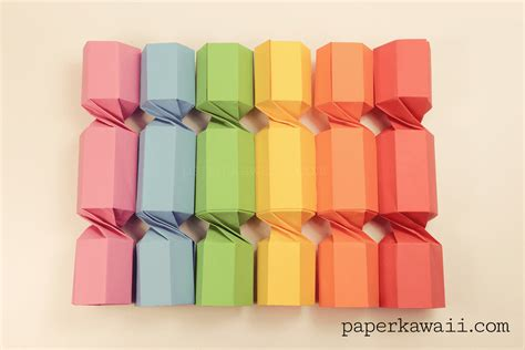 Origami Crackers - origami cracker tutorial paper kawaii