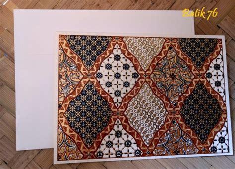 Kartu Ucapan Motif Batik kartu ucapan batik kartu ucapan ulang tahun motif batik kartu batik indonesia paper bag premium