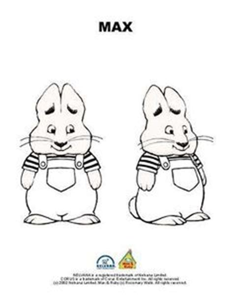 nick jr coloring pages max and ruby ruby watching over max playing in max and ruby printable