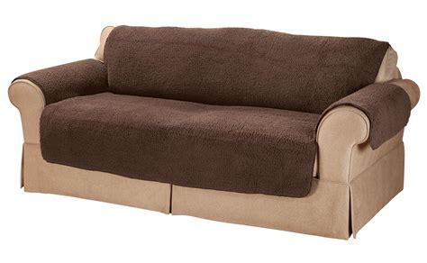 settee protectors sherpa sofa protector by oakridgetm ebay