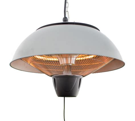 patio heater bulbs 1 5kw hanging ceiling silver halogen bulb electric infrared patio heater by firefly 163 59 99