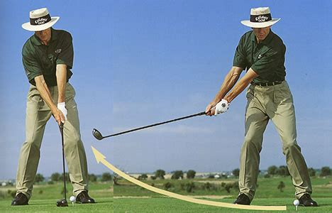 Golf Swing Takeaway Low And backswing