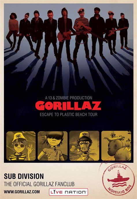 Digital Poster Esound Poster gorillaz live newhairstylesformen2014