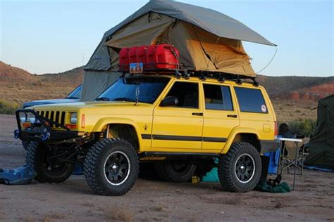 Jeep Xj Roof Top Tent The 5 Coolest Xj Cherokees Jeep Miami