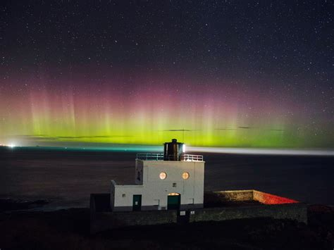 where can the northern lights be seen northern lights to be visible over uk on wednesday night