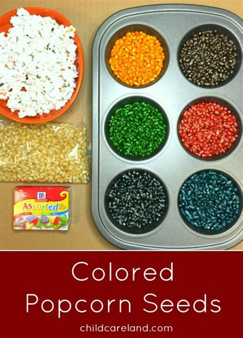 how to make colored popcorn best 25 popcorn crafts ideas on kool aid