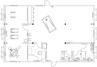 rec room floor plans recreational complexes for remote workforce housing atco