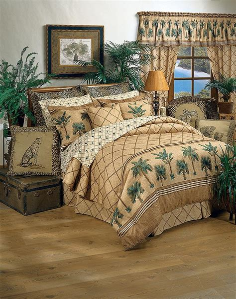 Kona Tropical Themed Full Size Bedding Set From The