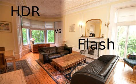 how to photograph interiors hdr vs flash photography property photos large room youtube