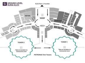 suria klcc floor plan petronas twin towers petronas towers travel guide