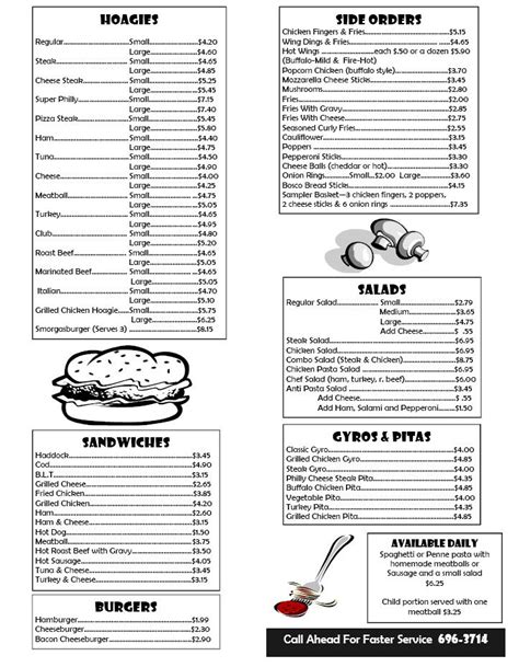 Box Lunch Menu Template Print Templates Takeout Menus Cacheduprinting Offers Free Lunch Menu Free Catering Menu Templates
