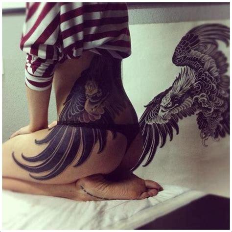 tattoo eagle girl dramatic eagle tattoos best tattoo 2014 designs and
