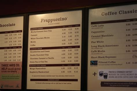 Starbucks Prices 2014   www.imgkid.com   The Image Kid Has It!