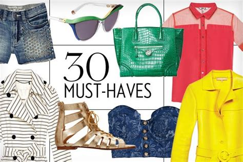 Your Must Haves For The Season by 2013 Fashion The 30 Must Haves You Need In Your