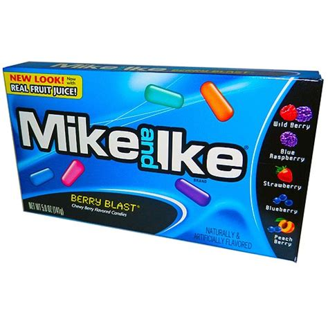 Permen Mike And Ike Mikeandlke Candies Berry Blast 141 Gr mike ike berry blast theater groovycandies store
