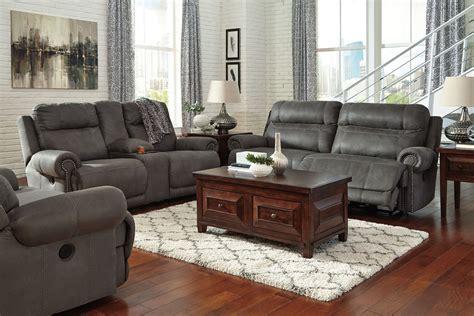 ashley furniture reclining living room set