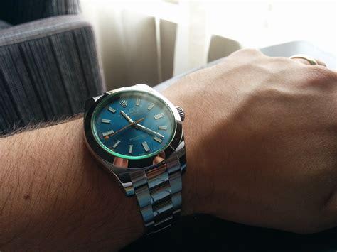 Rolex Milgauss Blue rolex milgauss z blue watches