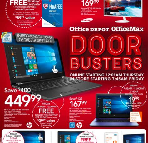 office depot coupons black friday office depot black friday 2017 deals office max black