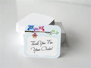 owl thank you cards 20 note cards small card etsy thank