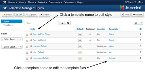 how to edit joomla template j3 x modifying a joomla template joomla documentation