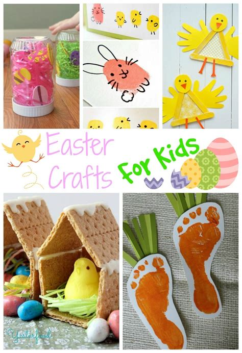 easter ideas for kids over 25 fun easter crafts for kids finding debra