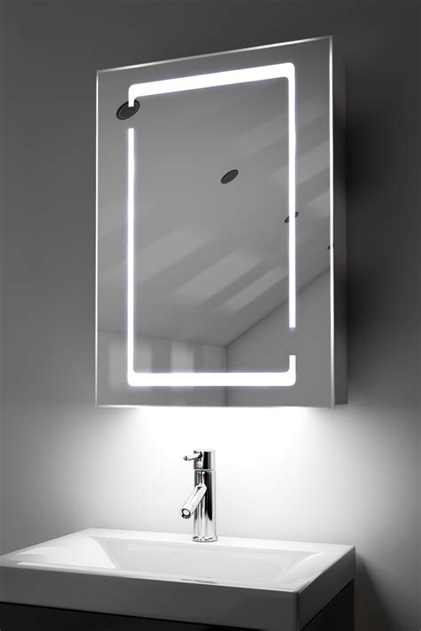 bathroom ambient lighting marilis demister bathroom cabinet with ambient under lighting