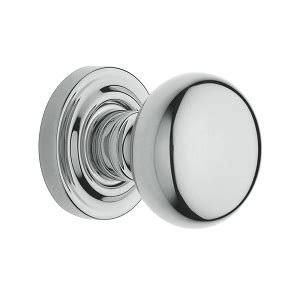 Baldwin Estate 5030 Chrome Bathroom Door Knobs
