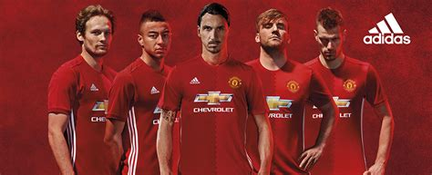official manchester united 2016 17 adidas home kit