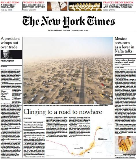Pdf Free New York Times App by International New York Times 4 April Pdf Free