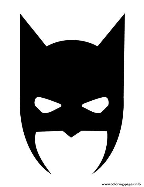 batman mask coloring pages printable batman mask halloween silhouette coloring pages printable