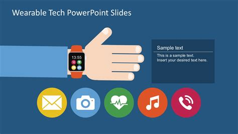 templates ppt free technology free wearable technology powerpoint slide