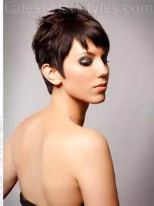 hairstyles with fringe sideburns 15 short hairstyles for winter 2013 celebrity hairstyles