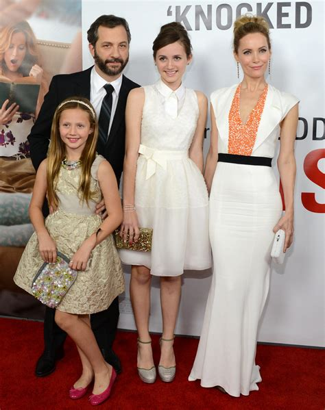 Kid Lesly 2 leslie mann and judd apatow s cutest family pictures