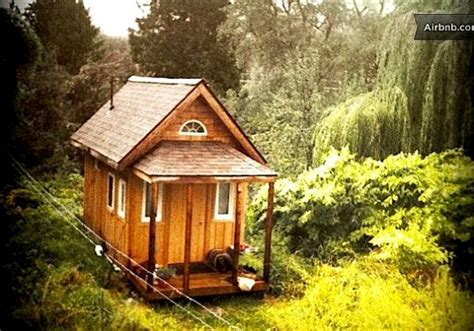 tiny home rental tiny house you can rent in nelson bc canada