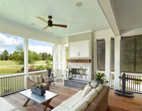 large open floor plans  wrap  porches rest