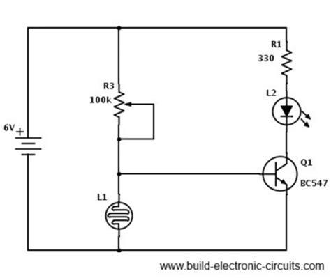 simple ldr circuit diagram ldr circuit diagram build electronic circuits