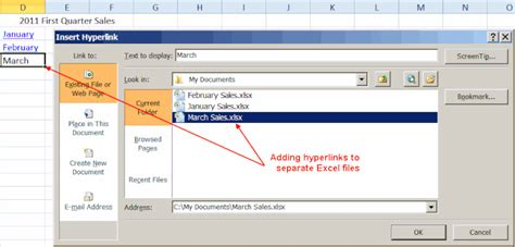 tutorial hyperlink excel excel hyperlinks bookmarks and mailto shortcuts