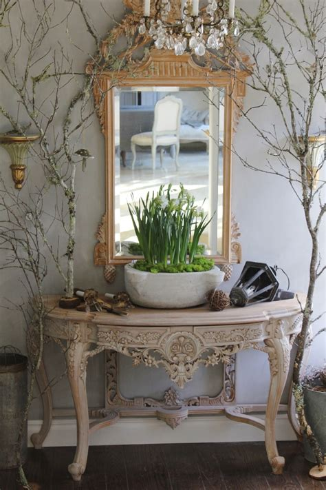beautiful table lamb blonde elegant entryways