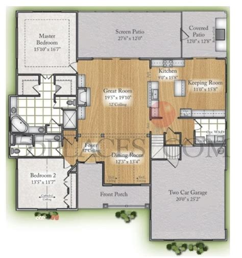 bill clark homes floor plans parkview by bill clark homes floorplan 2775 sq ft st