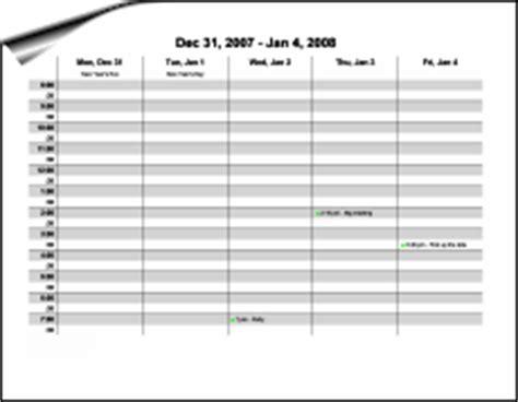 Calendarsthatwork Weekly Calendarsthatwork Access Calendar Template 2016