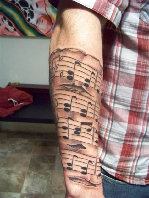 music sheet tattoo designs 25 best ideas about sleeve tattoos on