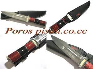 Pisau Kolumbia Stainless Steell pisau columbia cro ao 16 poros pisau