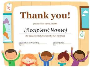 thanks certificate template photo certificate of appreciation sle wording images