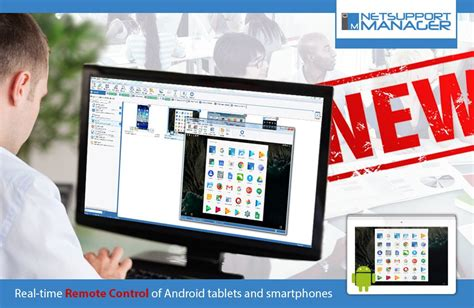 new update for android new update for netsupport manager introduces an android client app netsupport inc