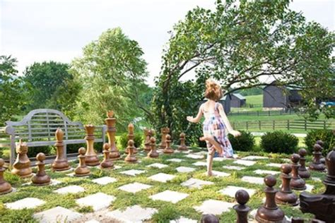 backyard chess 20 fun backyard ideas for your home