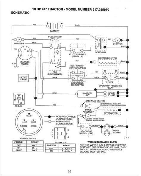 craftsman lt1000 wiring diagram 31 wiring diagram images